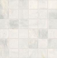 Parksville Stone Yukon White 2x2 Straight Joint Mosaic Tile