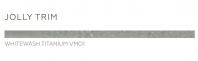 Daltile Vintage Metals Jolly Trim Whitewash Titanium- VM01
