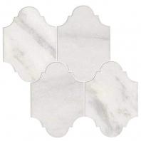 Parksville Stone Yukon White Victorian Mosaic Tile
