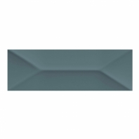 Mythology Aura Wave Crest 4x12 Rectangle Subway Tile