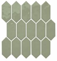 Mythology Chronos Picket Mosaic Tile