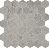 Fonte Heather Harbor Hexagon Mosaic Tile