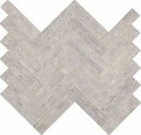 Fonte Heather Harbor Herringbone Mosaic Tile