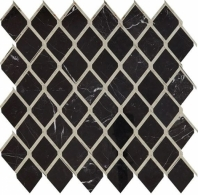 Lavaliere Nero Marquina Antique Mirror Mosaic Tile LV22