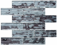 Droplettes Series Fog Shadow Interlocking Mosaic Tile