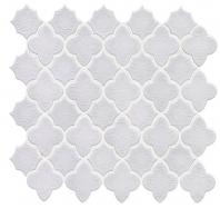 Soci Amara White Crackle Arabesque Tile SSE-817