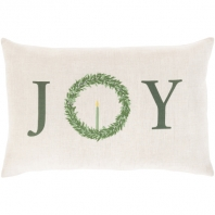 Simple Joy Wreath Pillow 13x20