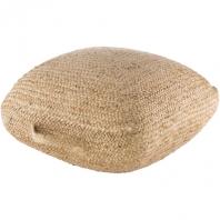 Ziya Woven Jute Floor Pillow