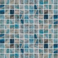 Del Spa Mikons Isle Blue 1x1 Tile DLS1101