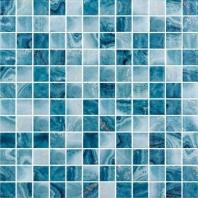 Del Spa Barrier Reef Blue 1x1 Tile DLS1102