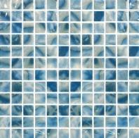 Del Spa Club Med Blue 1x1 Tile DLS1103