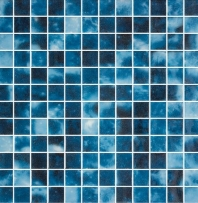 Del Spa Mariana Trench Blue 1x1 Tile DLS1104