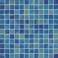 Del Spa Blue Cave Blue 1x1 Tile DLS1105