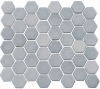 Greenwich Urbanite Blue Hexagon Tile GR885