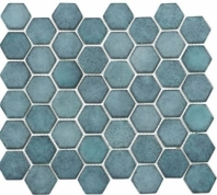 Greenwich Historic Grand Blue Hexagon Tile GR887