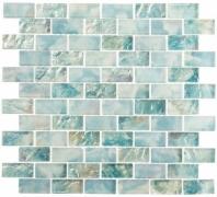 Mykonos Harbor Beach Day Blue Interlocking Tile MKH1602