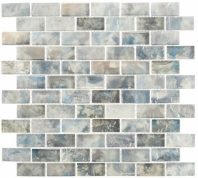 Mykonos Harbor Zeus Landing Gray Interlocking Tile MKH1604