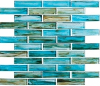 Oyster Cove Inspiration Teal Blue Interlocking Tile OTC1202