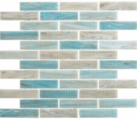 Oyster Cove Mellow Waters Blue Interlocking Tile OTC1203