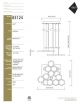 Elan Hexel Chandelier Model 83124