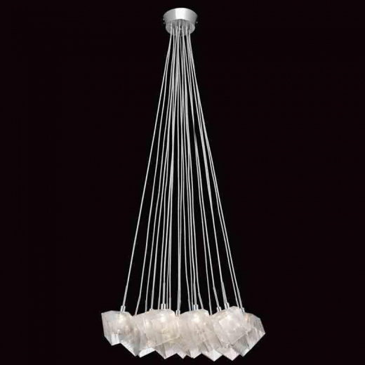 Elan Icekubez Chandelier Model 83269