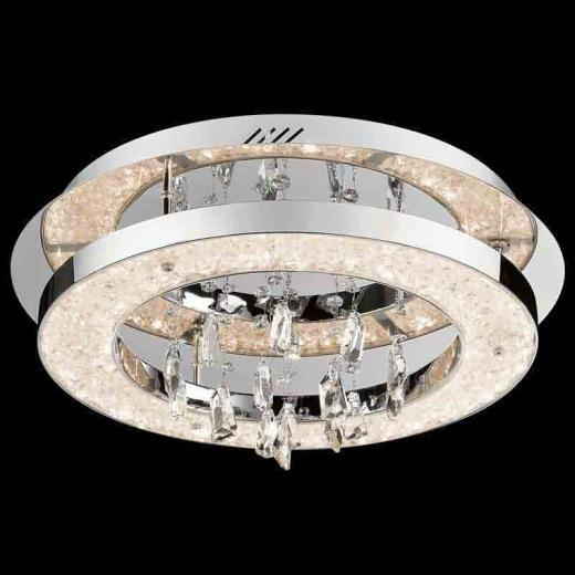 Elan Crushed Ice Ceiling Light Model 83416