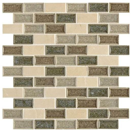 Aura Tile Meadow Mist 1x2 Brick-Joint AU31
