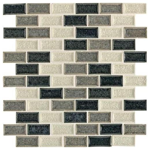 Aura Tile Ocean Spray 1x2 Brick-Joint AU32