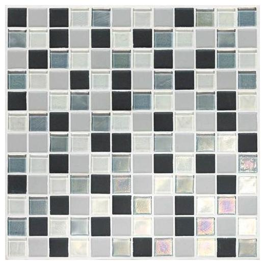 Coastal Keystones Tile Tropical Thunder Blend 1x1 Mosaic CK88