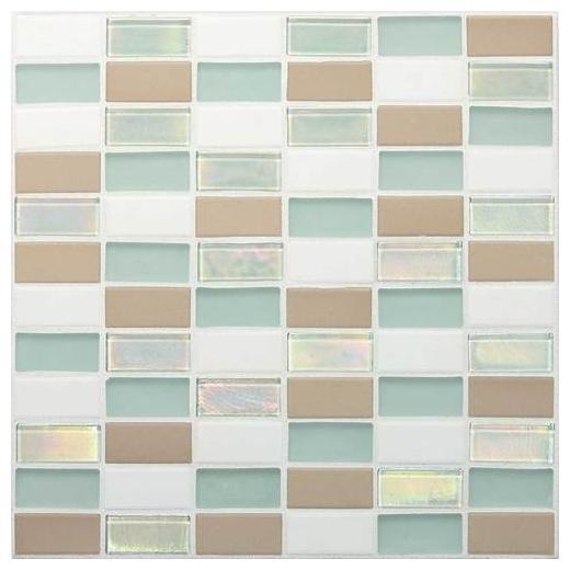 "Coastal Keystones Tile Trade Wind 2"" x 1"" Straight-Joint CK86"
