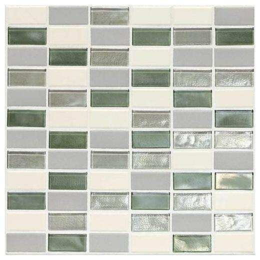 "Coastal Keystones Tile Caribbean Palm 2"" x 1"" Straight-Joint CK87"