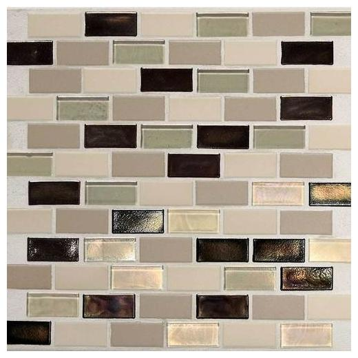"Coastal Keystones Tile Sunset Cove 2"" x 1"" Brick-Joint CK89"