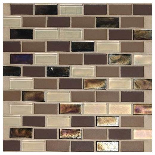 """Coastal Keystones Tile Treasure Island 2"""" x 1"""" Brick-Joint CK90"""