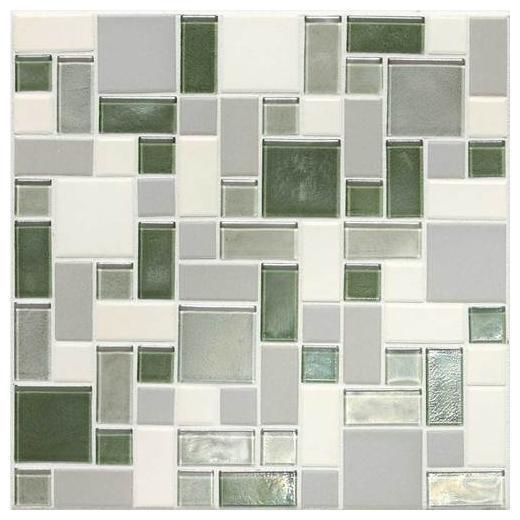 Coastal Keystones Tile Caribbean Palm Block Random CK87