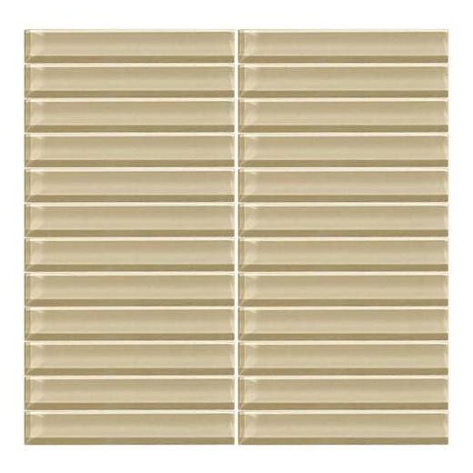Color Wave Tile Tango Tan 1 x 6 Straight-Joint CW06