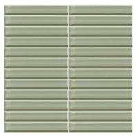 Color Wave Tile Green Parade 1 x 6 Straight-Joint CW15