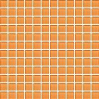 Color Wave Tile Russet Orange CW29