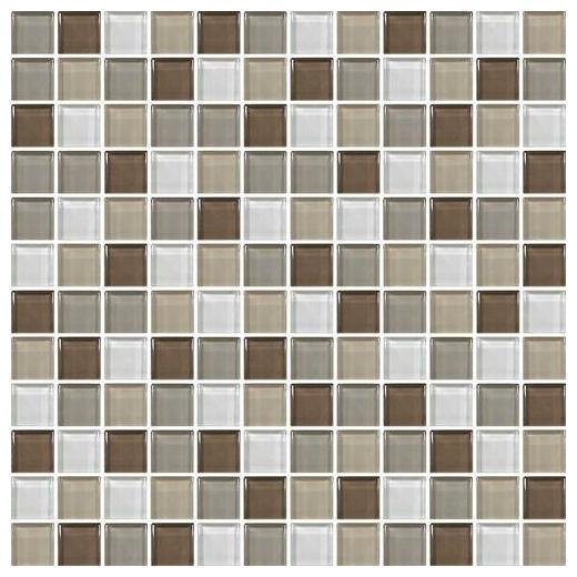 Color Wave Tile Downtown Oasis 1 x 1 Mosaic CW23