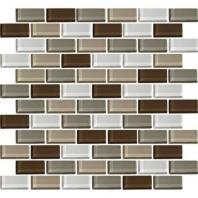 Color Wave Tile Downtown Oasis 2 x 1 Brick-Joint CW23