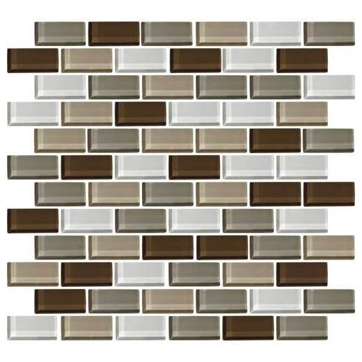 Color Wave Tile Downtown Oasis 2 x 1 Brick-Joint CW23