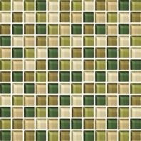 Color Wave Tile Rain Forest 1 x 1 Mosaic CW25