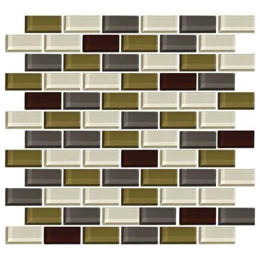 Color Wave Tile Autumn Trail 2 x 1 Brick-Joint CW26