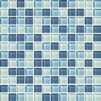 Color Wave Tile Winter Blues 1 x 1 Random Mosaic CW27