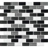 Color Wave Tile Evening Mixer 2 x 1 Brick-Joint CW28