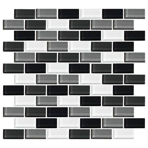 Color Wave Tile Evening Mixer 2 x 1 Brick-Joint CW28