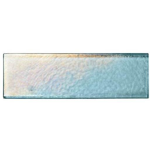 Glass Horizons Tile Sky Blue 2 x 8 Mosaic GH03