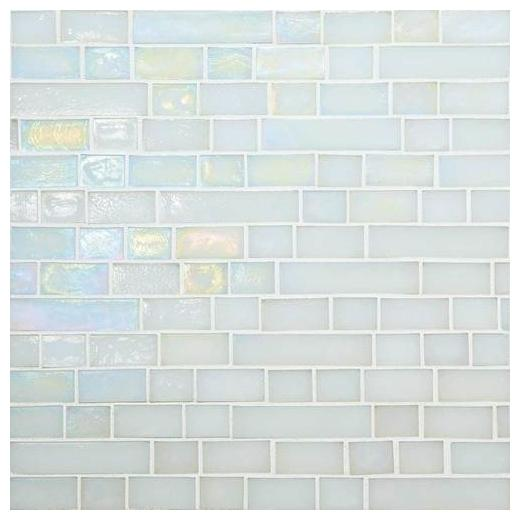 Glass Horizons Tile Waves Random Linear Mosaic GH01