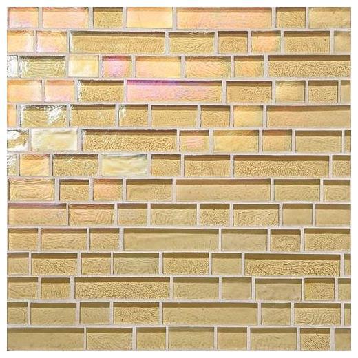 Glass Horizons Tile Reed Random Linear Mosaic GH04