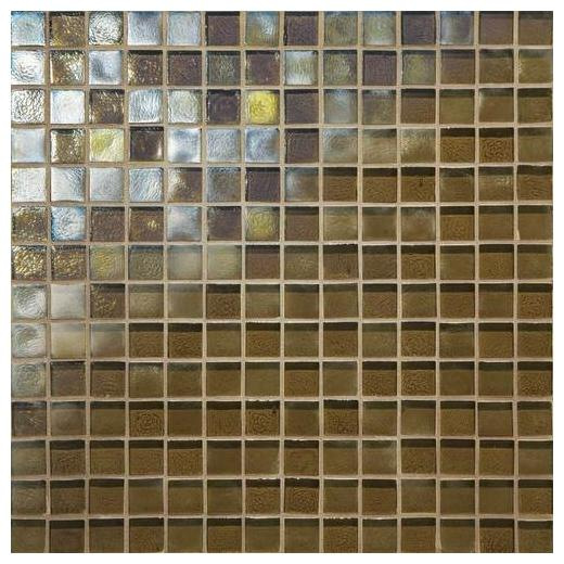 Daltile Glass Horizons Tile Driftwood Mosaic GH06