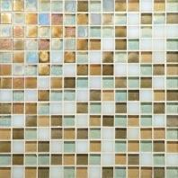 Glass Horizons Tile Caribbean Blend Mosaic GH10